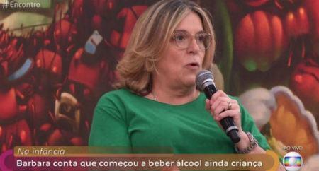 """""""Encontro"""" Barbara Gancia alcoolismo"""