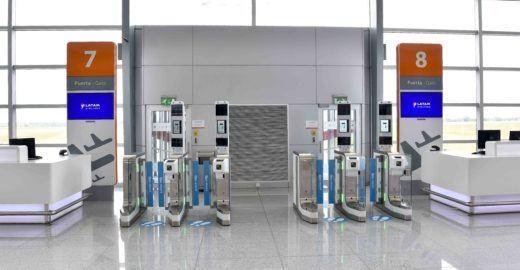 Aeroporto do Uruguaiadota embarque por reconhecimento facial