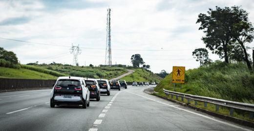 Carreata de carros elétricos acontece neste domingo