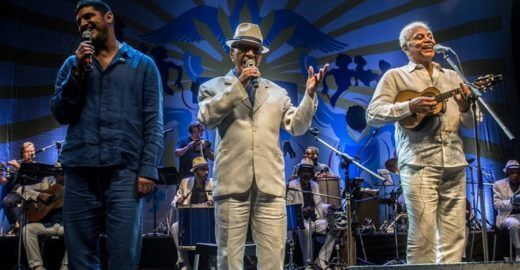 Criolo, Paulinho da Viola e Portela celebram o samba em show 0800