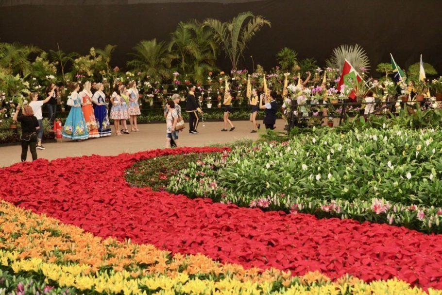 A Festa das Flores de Joinville é a mais antiga do gênero no país