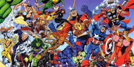Heróis da Marvel Comics criados por Stan Lee