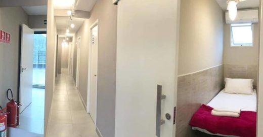 Hostel em São Paulo lança 'quartos-cápsulas'