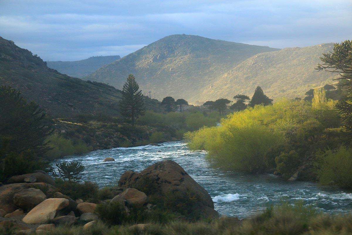 Rio Aluminé, Argentina