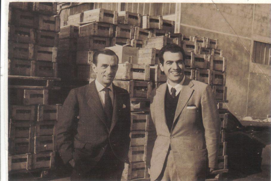 João Cabral de Melo Neto e Antônio Abujamra