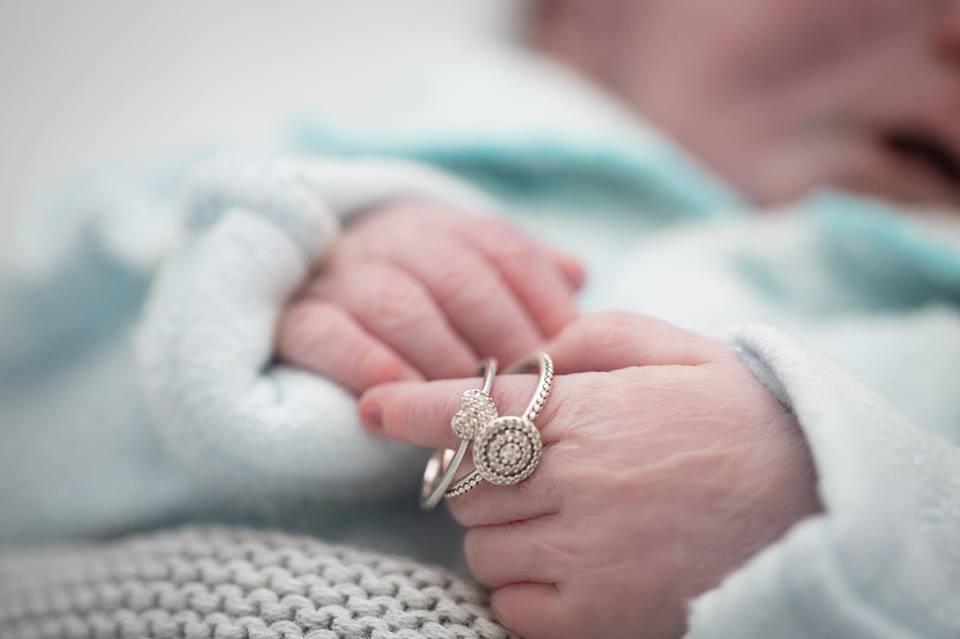 dedos do bebê