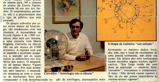 Olavo de Carvalho, guru de  Bolsonaro, era astrológo profissional