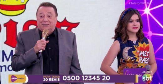 Maisa Silva sai em defesa de Raul Gil e comprova fake news