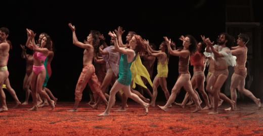 Balé da Cidade dança Caetano Veloso no Theatro Muncipal de SP