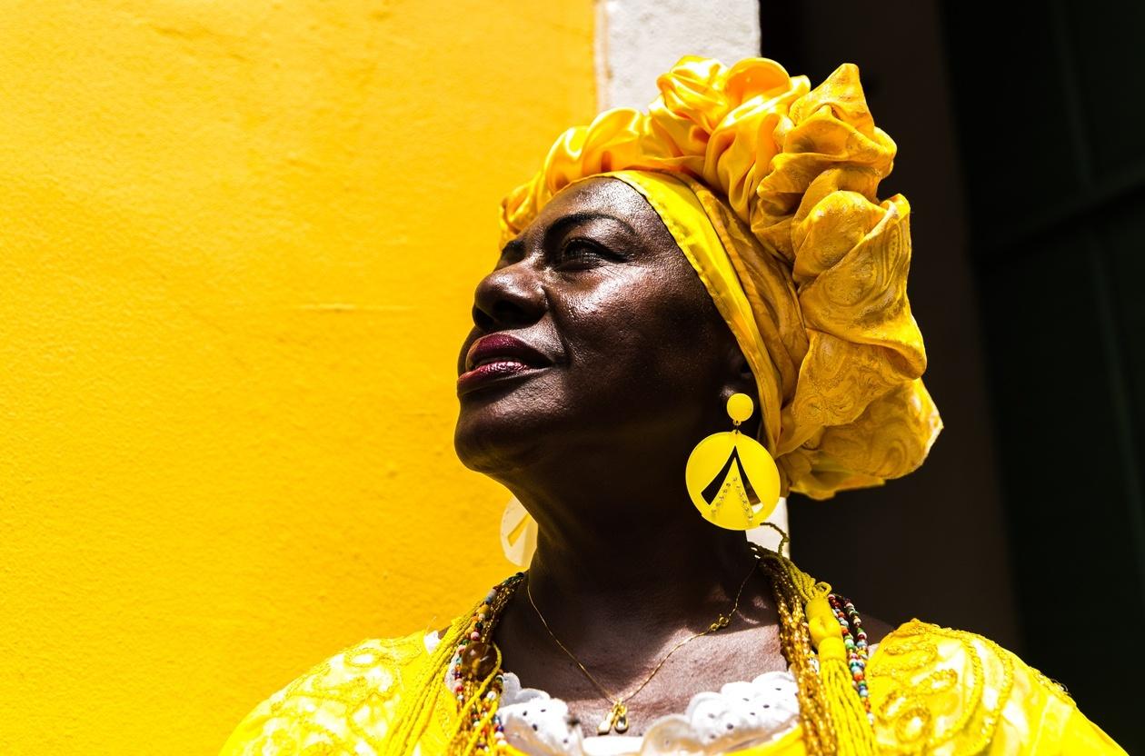 Mulher negra em Salvador