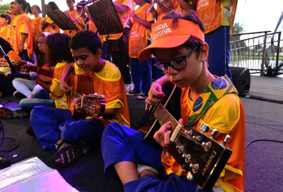 Música também tem espaço na Virada Inclusiva