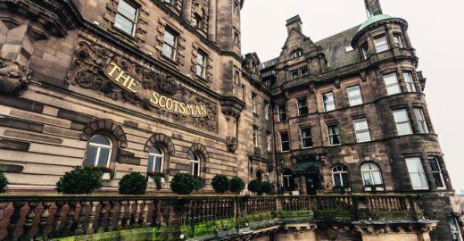 Faça tudo a pé em Edimburgo a partir do The Scotsman Hotel