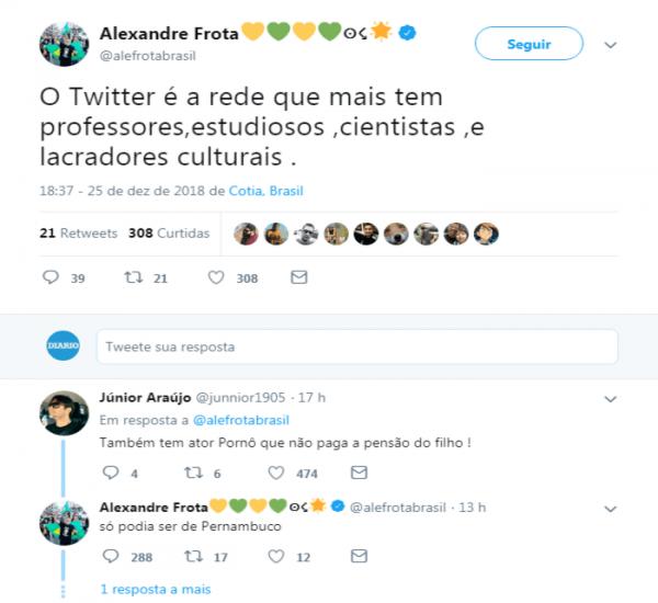 alexandre frota xenófobo