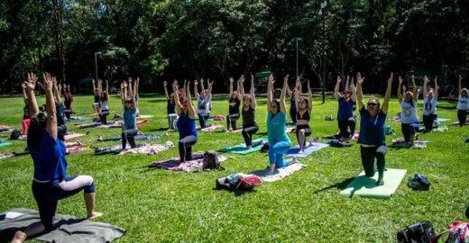 Zen em 2019: comece o ano com uma aula de yoga no Parque do Carmo