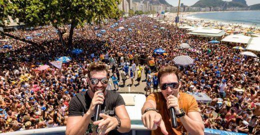 Bloquinho do Rio: Saulo e blocos fazem a festa em trio elétrico