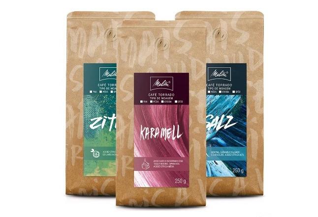 3 pacotes de café