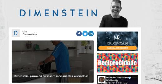 Em apenas 12 dias de vida, Blog Dimenstein ganha 500 mil leitores