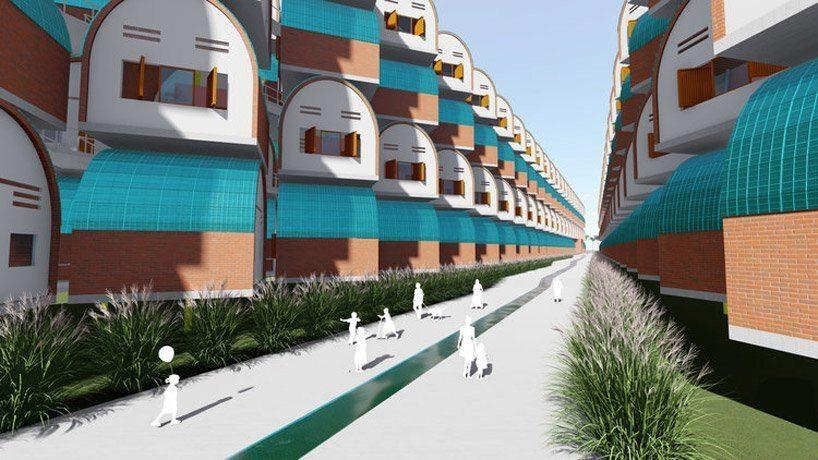 O modelo de casa de árvore econômica é uma solução sustentável para a moradia de trabalhadores do Camboja
