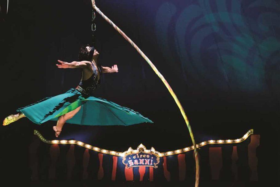 espetáculo do Circo Zanni