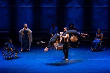 espetáculo da Cia Circo Dança