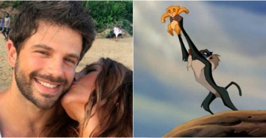 Duda Nagle recria cena de 'O Rei Leão' com Zoe e bomba na web