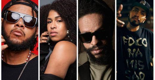 Emicida, Rael, Rashid e Drik Barbosa fazem showzaço em SP