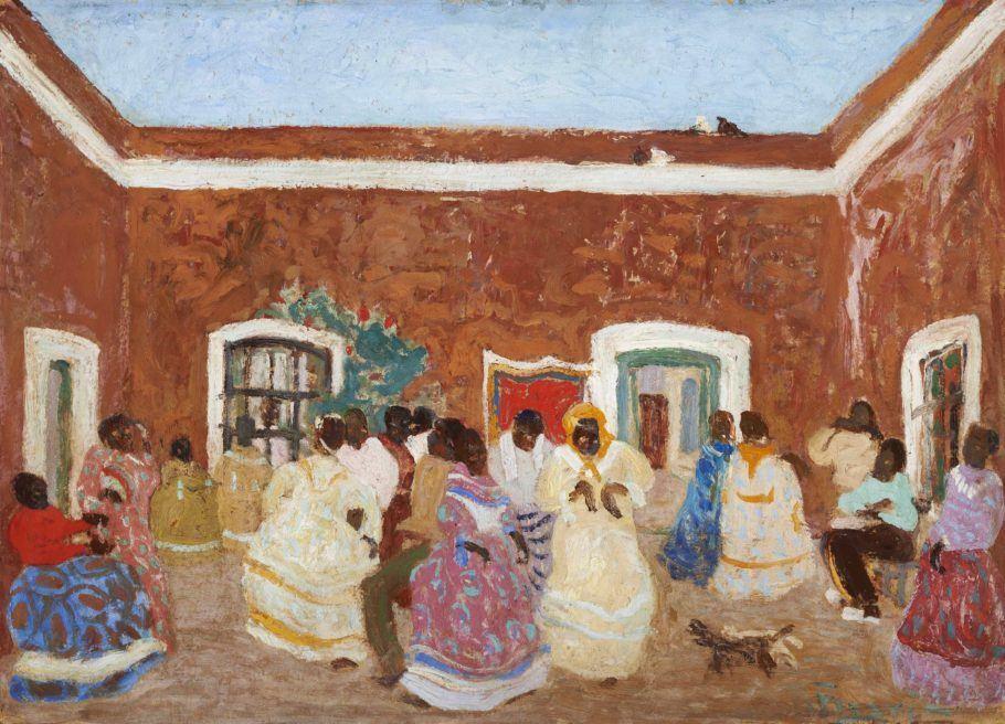 Obra En Familia, de Pedro Figari