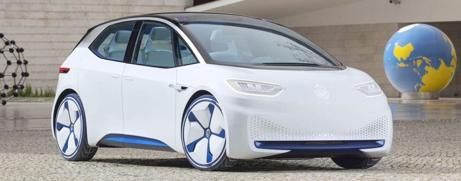 O compacto elétrico I.D. é uma das apostas da Volkswagen, que anunciou o fim dos carros a gasolina para 2026
