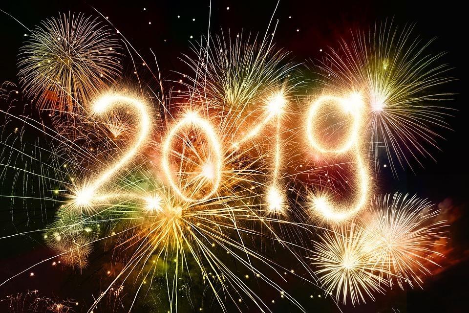fogos de artifício e 2019