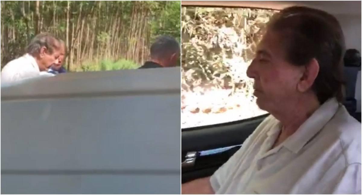 Vídeo mostra momento em que João de Deus foi preso