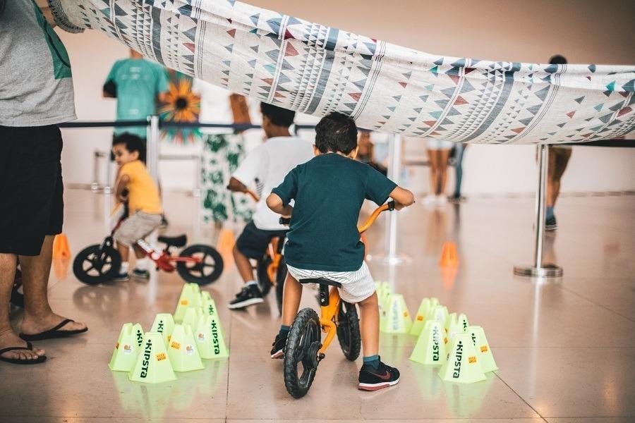 Jogos de Bicicleta - Museu do Amanhã