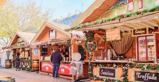 7 mercados de Natal para conhecer em Paris