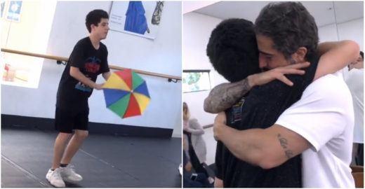 Marcos Mion tem melhor reação após ver filho com autismo dançar