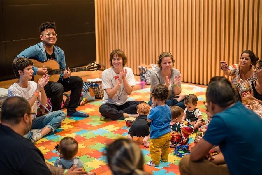 Oficina Sensorial para bebês - Museu do Amanhã