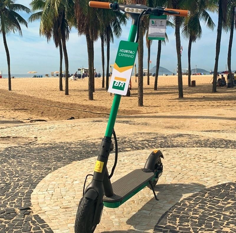 O patinete elétrico passa a ser uma opção de transporte sustentável no Rio