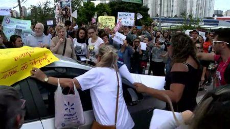 manifestantes morte cachorro osasco