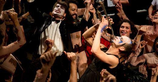Teatro Oficina apresenta 'Roda Viva', de Chico Buarque, no Bixiga