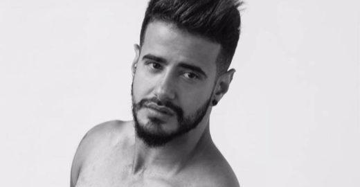 Ator trans Tarso Brant posa nu para ensaio do 'Pele Project'