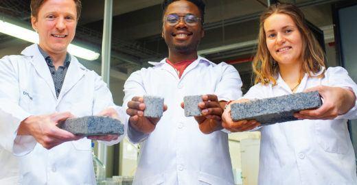 Cientistas criam tijolo feito de xixi