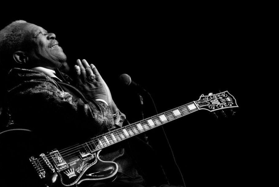 Apresentação do Músico americano de blues B.B. King