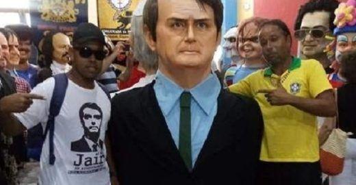 Boneco de Bolsonaro não sairá no carnaval de Olinda