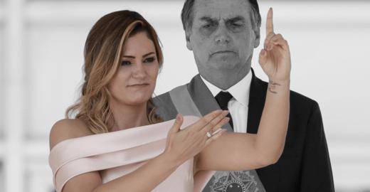 Bolsonaro quer proibir sua mulher de usar linguagem para surdos