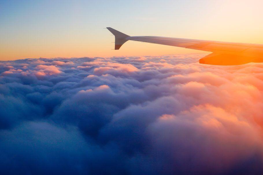Viajar mais de avião