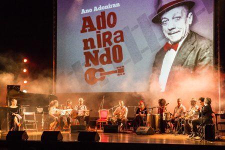 """Show em homenagem a Adoniran Barbosa no Theatro Municipal de São Paulo, em que o Conjunto João Rubinato teve a honra de acompanhar os mais diversos artistas e ainda apresentou três músicas do seu álbum """"Adoniran em Partitura: 12 canções inéditas"""""""