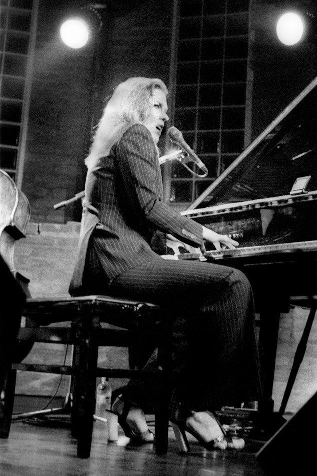 Cantora e pianista de jazz Diana Krall