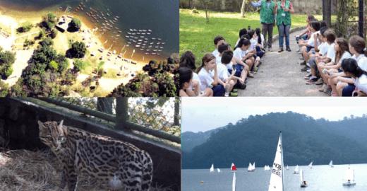 Férias: parque do ABC reúne zoológico, esportes aquáticos e mais