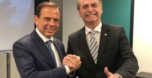 Bolsonaro e Guedes apontam Doria como futuro presidente