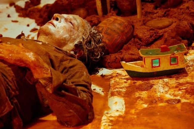Imagem do espetáculo Dezuó, breviário das águas<em>, um dos destaques da programação