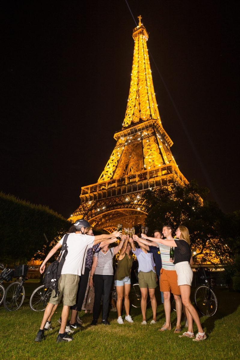Passeio de bike Paris