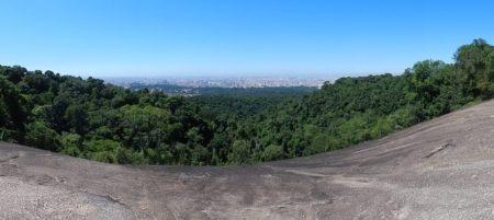 Pedra Grande, no Parque Estadual da Cantareira